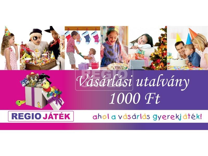 REGIO játék vásárlási utalvány - 1000 Ft