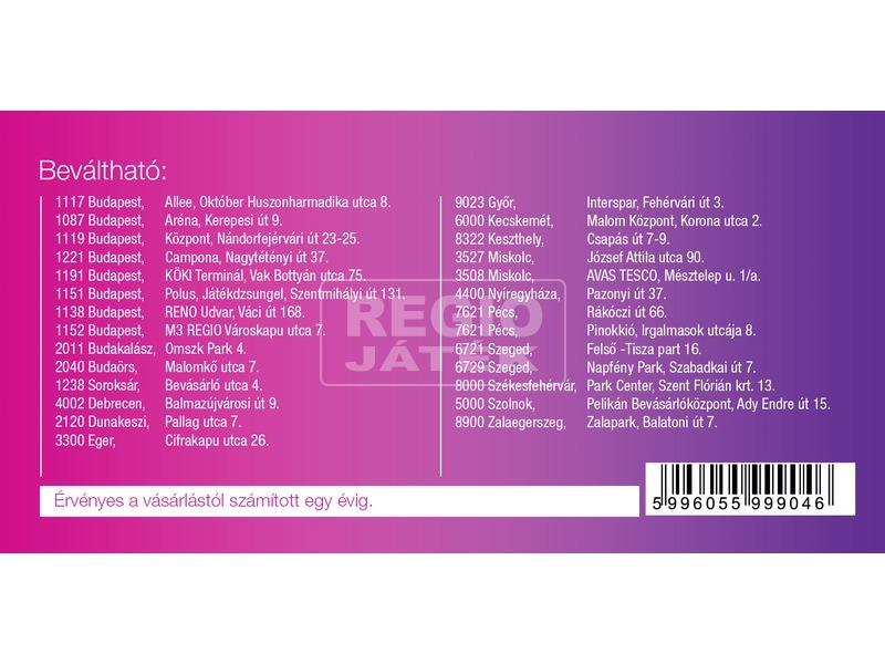 kép nagyítása REGIO játék vásárlási utalvány - 1000 Ft