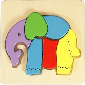 Elefánt fa 6 darabos puzzle