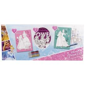 Disney hercegnők csillogó színező készlet