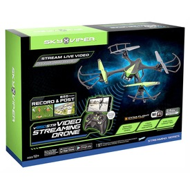 Sky Viper Video Streaming Drone quadrocopter