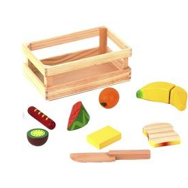 Fa élelmiszer készlet