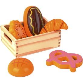 Fa pékáru vágható készlet