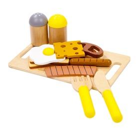 Fa reggeliző készlet