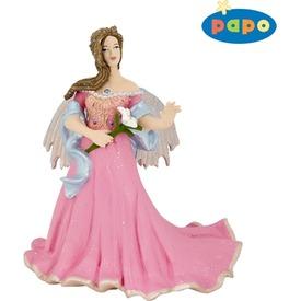 Papo rózsaszín tündér liliommal 38814