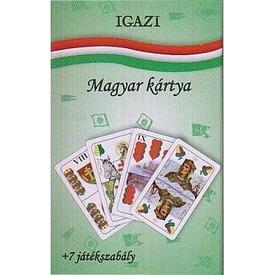 Igazi magyar kártya 7 játékszabállyal Itt egy ajánlat található, a bővebben gombra kattintva, további információkat talál a termékről.