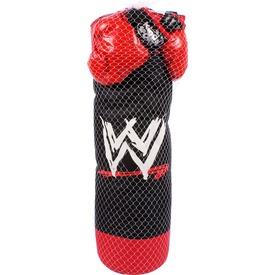 Bokszkészlet - piros-fekete, 82 cm