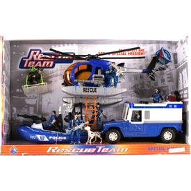 Rendőrségi jármű és figura készlet Itt egy ajánlat található, a bővebben gombra kattintva, további információkat talál a termékről.