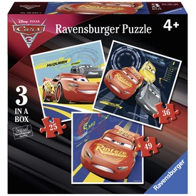 Verdák 3 - 3 az 1-ben puzzle Itt egy ajánlat található, a bővebben gombra kattintva, további információkat talál a termékről.