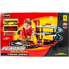 Bburago Ferrari parkolóház 2 autóval - 1:43