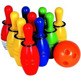 Bowling 10 darabos készlet