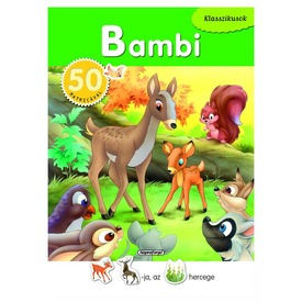 Klasszikusok 50 matricával - Bambi