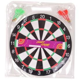 Darts tábla 6 darab dobónyíllal - 40 cm
