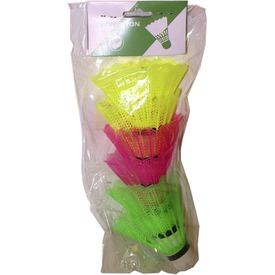 Színes tollaslabda 6 darabos készlet