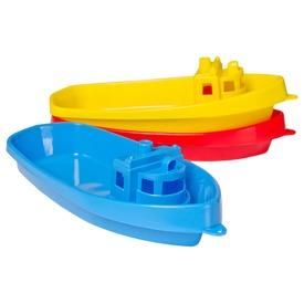 Műanyag kishajó - 38 cm, többféle