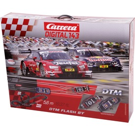Carrera GO!!! DTM Flash By digital pálya