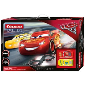 Carrera GO!!! Cars 3 - Take Off autópálya