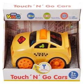 Műanyag autó fénnyel és hanggal - sárga, többféle