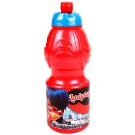 Katicabogár műanyag kulacs - 400 ml