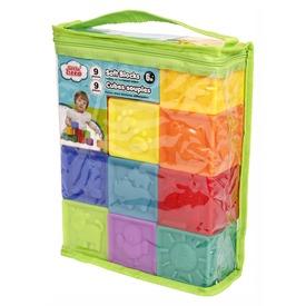Bébi puha játékkockák 9 db.  Itt egy ajánlat található, a bővebben gombra kattintva, további információkat talál a termékről.