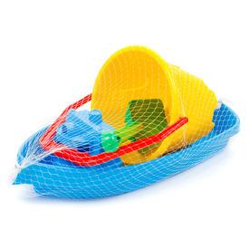 Homokozó készlet hajóval - 39 cm, többféle