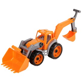 Műanyag traktor markolókkal - 50 cm, többféle Itt egy ajánlat található, a bővebben gombra kattintva, további információkat talál a termékről.