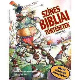Színes bibliai történetek képregény Itt egy ajánlat található, a bővebben gombra kattintva, további információkat talál a termékről.