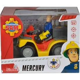 Sam a tűzoltó Mercury quad figurával - 11 cm