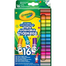 Crayola: vastag mini filctoll 16 darabos készlet Itt egy ajánlat található, a bővebben gombra kattintva, további információkat talál a termékről.