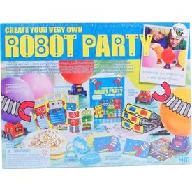 4M Készíts saját robot partit kreatív szett