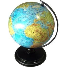 Hegy-vizrajzi földgömb