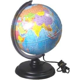 Politikai világító földgömb - 25 cm