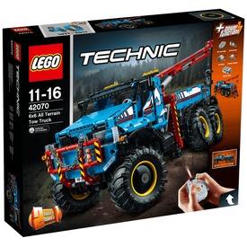 LEGO® Technic 6 x 6 terepjáró vontató 42070 Itt egy ajánlat található, a bővebben gombra kattintva, további információkat talál a termékről.