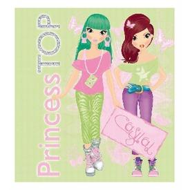 Hétköznapi ruhák divattervező füzet - zöld