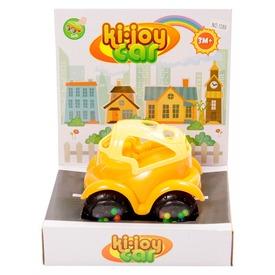 Készségfejlesztő bébi autó - narancs-sárga, 12 cm Itt egy ajánlat található, a bővebben gombra kattintva, további információkat talál a termékről.