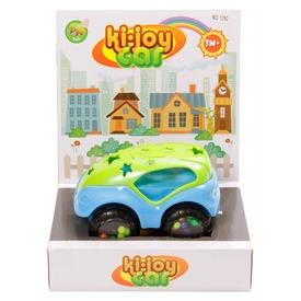 Készségfejlesztő bébi autó - kék-zöld, 13 cm
