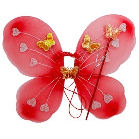 Pillangó szárny fejdísszel - többféle
