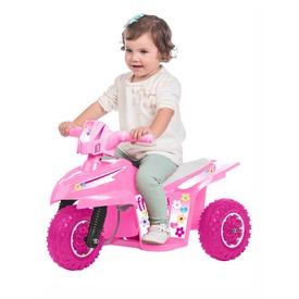 Elektromos kismotor - 6V, rózsaszín