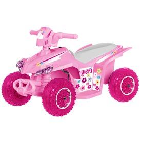 Elektromos quad - 6V, rózsaszín