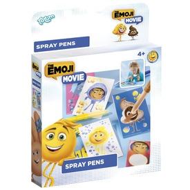 Emoji festékszóró toll készlet