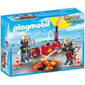Playmobil Reptéri tűzoltók 5397