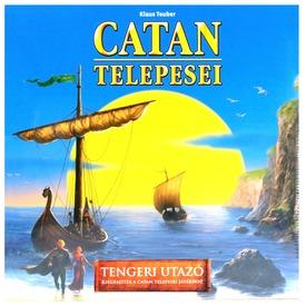 Catan telepesei: A tengeri utazó kiegészítő - új