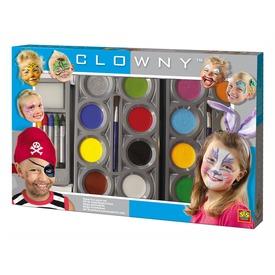 Clowny - arcfestő készlet Itt egy ajánlat található, a bővebben gombra kattintva, további információkat talál a termékről.