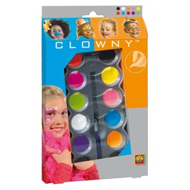 SES Clowny arcfestő 10 darabos készlet