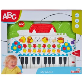 ABC állathangos zongora