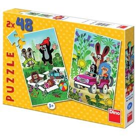 Kisvakond 2 x 48 darabos puzzle Itt egy ajánlat található, a bővebben gombra kattintva, további információkat talál a termékről.