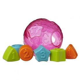 Formaválogató labda - rózsaszín