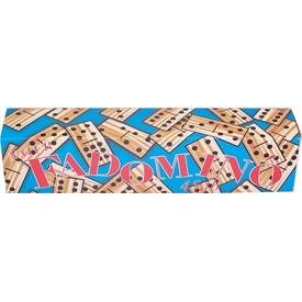 Natúr 45 darabos dominó fából