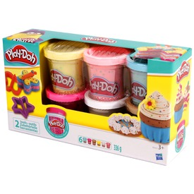 Play-Doh gyurma készlet - konfettis, 6 x 56 g