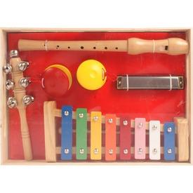 Fa hangszer készlet furulyával, xilofonnal Itt egy ajánlat található, a bővebben gombra kattintva, további információkat talál a termékről.